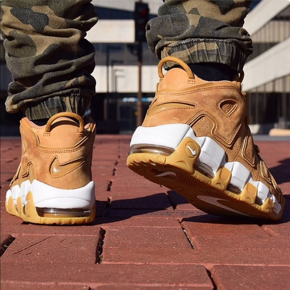 b6ab8fc664e Nike Air Uptempo Wheat Flax Men's